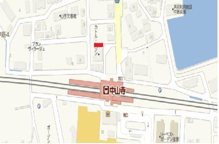 中山寺地図