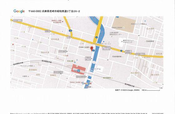 エス・キュート尼崎地図