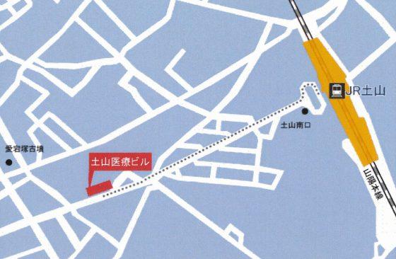 地図(土山医療ビル)